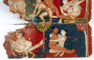 Painting manuscript of the Kamasutra, Nepal, 1948