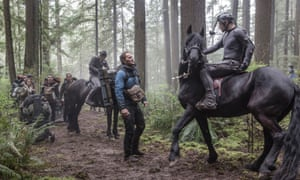Andy Serkis in a performance-capture suit plays Caesar in Dawn of the Planet of the Apes.