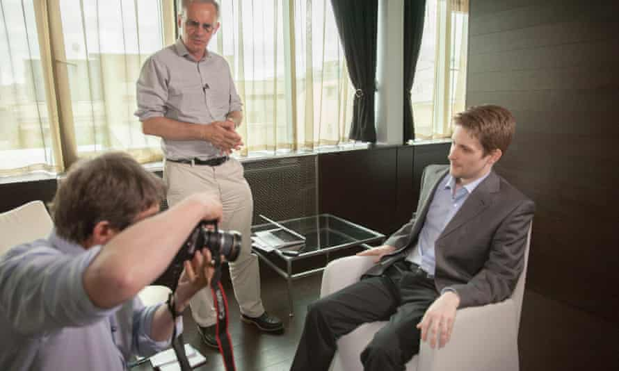 The sharing of ordinary people's intimate photos would happen every couple of months, Snowden told the Guardian.
