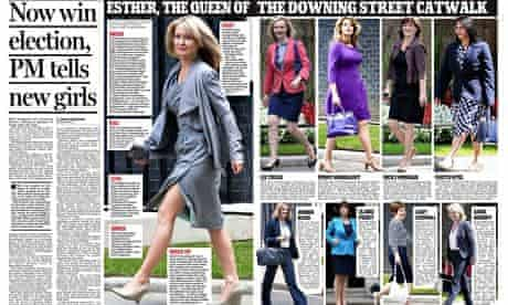 The Daily Mail's 'Downing Street catwalk'