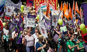 Public sector wage protest