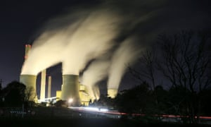 Loy Yang of Power Station in the Latrobe Valley, Victoria, Australia.