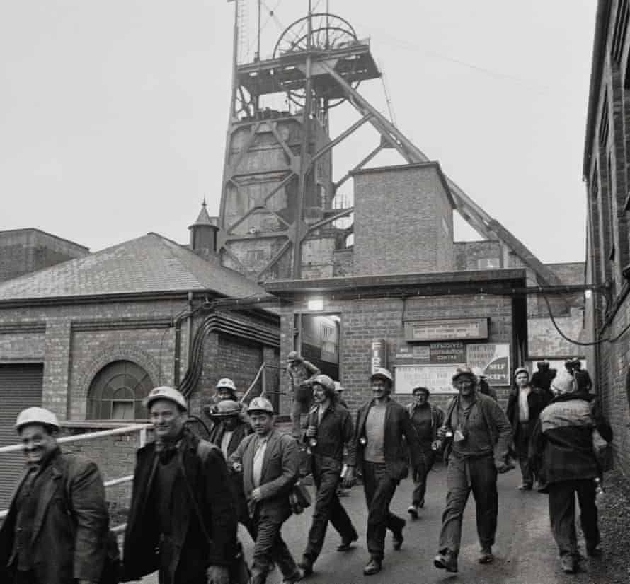 Welbeck Colliery is not a theme park. It's a coal mine. This is the colliery in 1974.