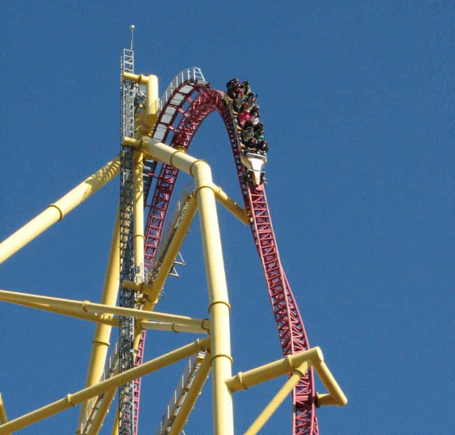 Top Thrill Dragster at Cedar Point.
