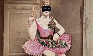 Man in pink tutu, Krafft-Ebing collection, post
