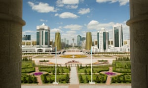 The Presidential Palace in Astana, Kazakhstan.