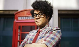 Richard Ayoade as Moss in the IT Crowd