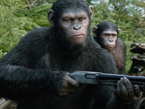 Andy Serkis as Caesar inDawn of the Planet of the Apes