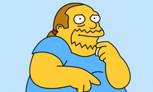 The Simpsons' Comic Book Guy