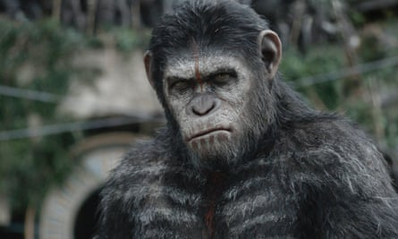 Actor Andy Serkis as ape Caesar Dawn of the Planet of the Apes