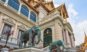 Chakri Maha Prasat Hall, Grand Palace, Bangkok, Thailand