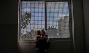 Refugee Families Escape From North Gaza