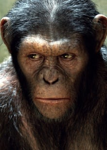 Andy Serkis as Caesar in Rise of the Planet of the Apes