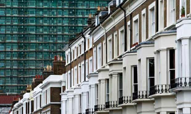 terraced houses flats London