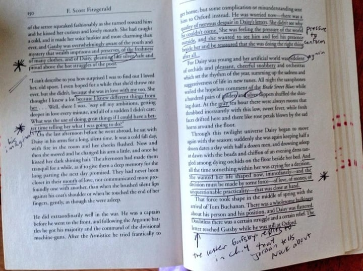 How to write an annotation of a book