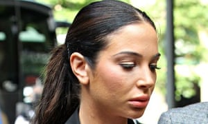 x factor star Tulisa Contostavlos who denies helping helping a reporter to obtain cocaine