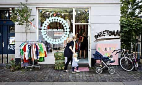 Vintage Kids. Vintage kids store on Vesterbro near Enghave Plads, Copenhagen