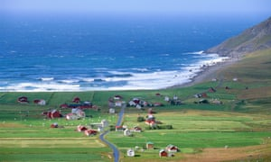Unstad, Norway, is the location of the world's most northerly surf school