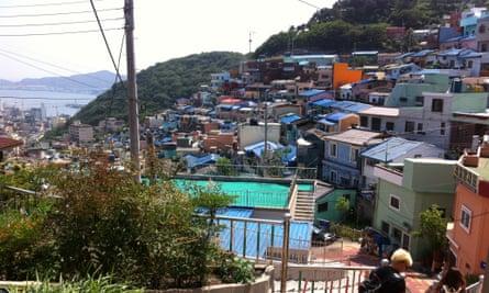 Gamcheon Culture Village in Busan.