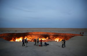 Darvaza Crater
