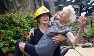 Kate Winslet and Eve Branson