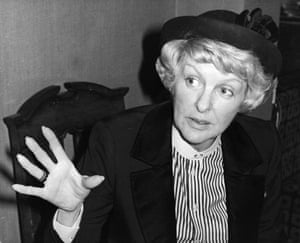 Comedian Elaine Stritch, is the first American to open the Chelsea Antiques Fair. 6th March 1979: