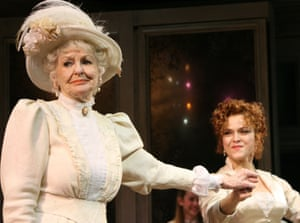 Elaine Stritch, Bernadette Peters  'A Little Night Music' resumes performances with new cast, New York, America - 13 Jul 2010