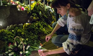 Malaysian Airlines flight MH17, Dutch embassy in Kiev