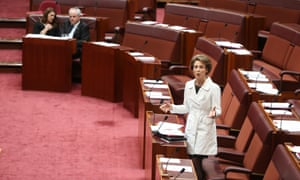 Senator Michaelia Cash speaks in the senate this afternoon, Friday 18th July 2014
