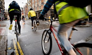 Cycling, London