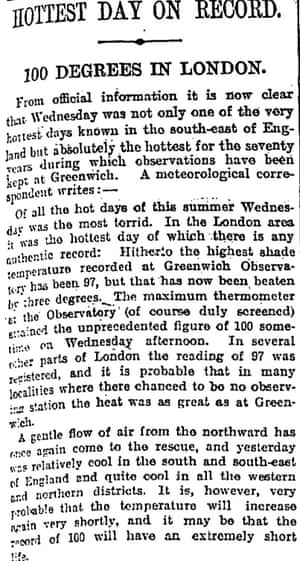 From the Manchester Guardian, 11 August 1911