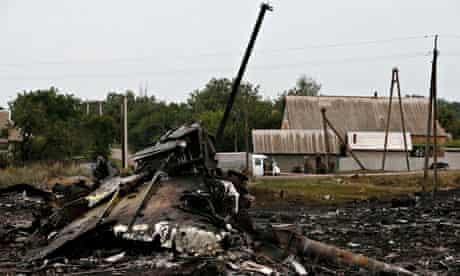 Malaysia Airlines MH17 plane crash in Ukraine