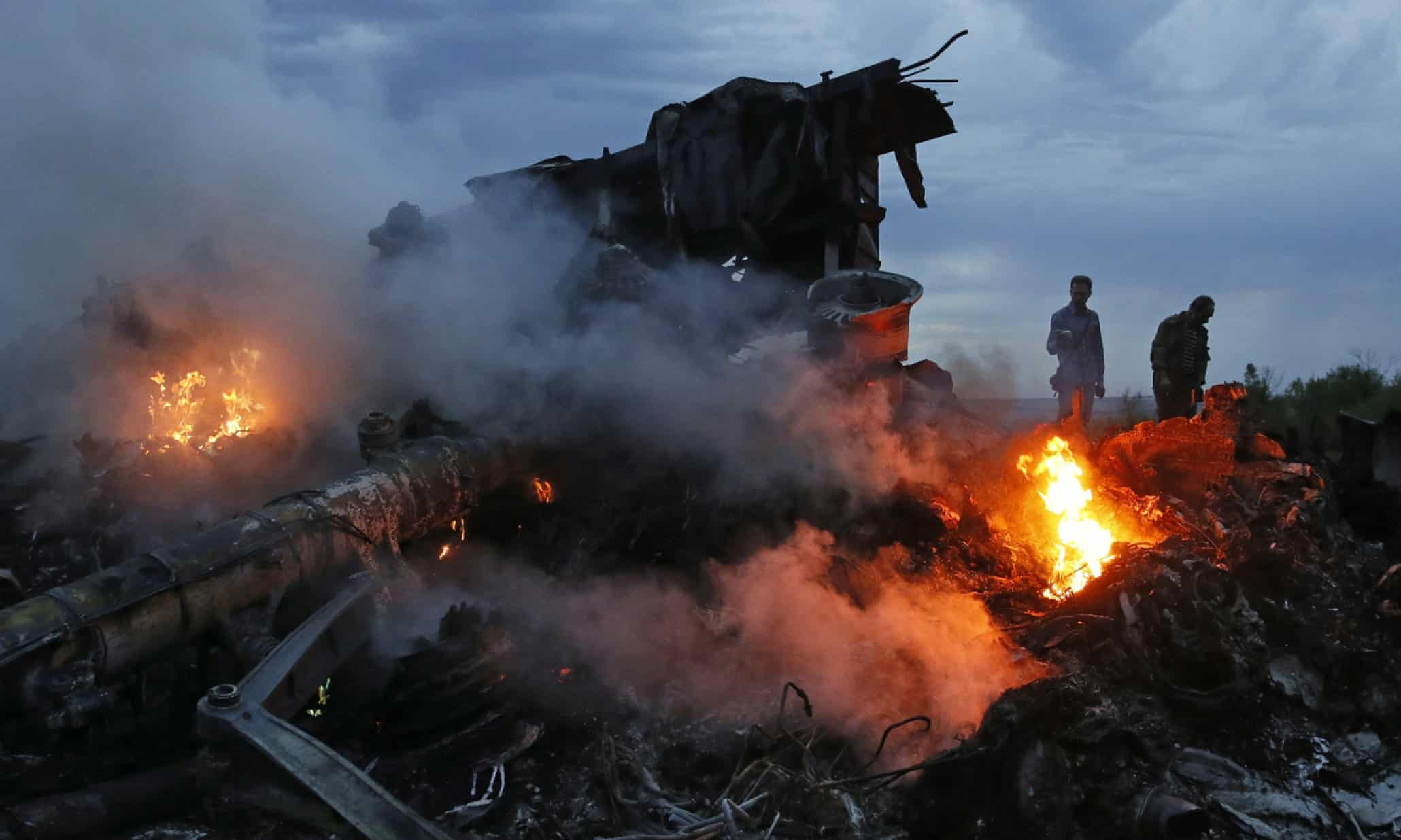 Malaysia Airlines flight MH17 crash – in pictures