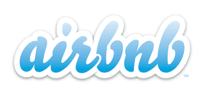 Wish you were here? … Airbnb's old logo had the endearingly naff quality of a bedroom startup.