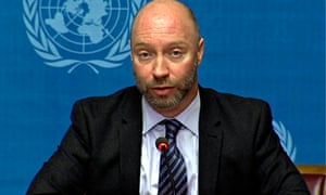 Glenn Thomas, WHO media officer