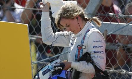 Wiliams test driver Susie Wolff