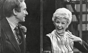 Larry Kert and Elaine Stritch in Company