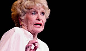 Elaine Stritch at the Old Vic in 2002