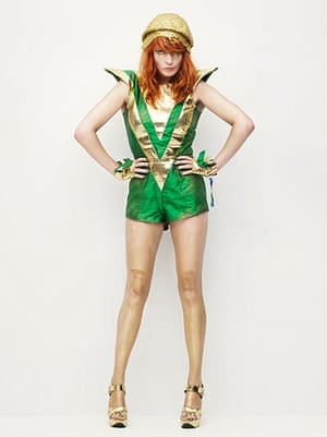 Bestival dressing up: Bestival dressing up Florence and the Machine