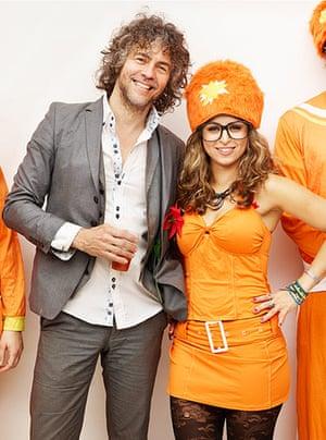 Bestival dressing up: Kent Mathews and Dan Smith Bestival dressing up