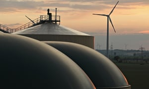 German biogas plant, Ebendorf