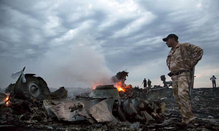 Malaysia Airlines MH17 crash site