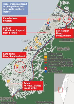 gaza casualties