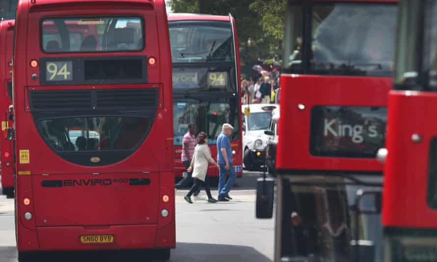 Researchers from King's College London have found that concentrations of nitrogen dioxide in Oxford Street are the worst on earth.