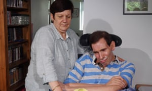 The late Tony Nicklinson, who campaigned for the right-to-die.