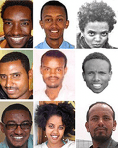 Ethiopian journalists and bloggers