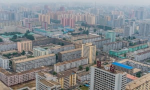 A view of central Pyongyang, North Korea's capital, from the Juche tower in June 2014.