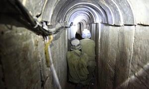 Gaza terror tunnel uncovered