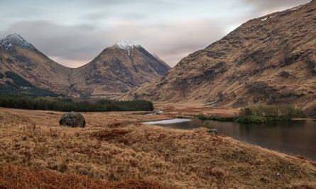 Glen Etive in the Scottish Highlands