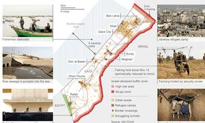 生活在加沙地带